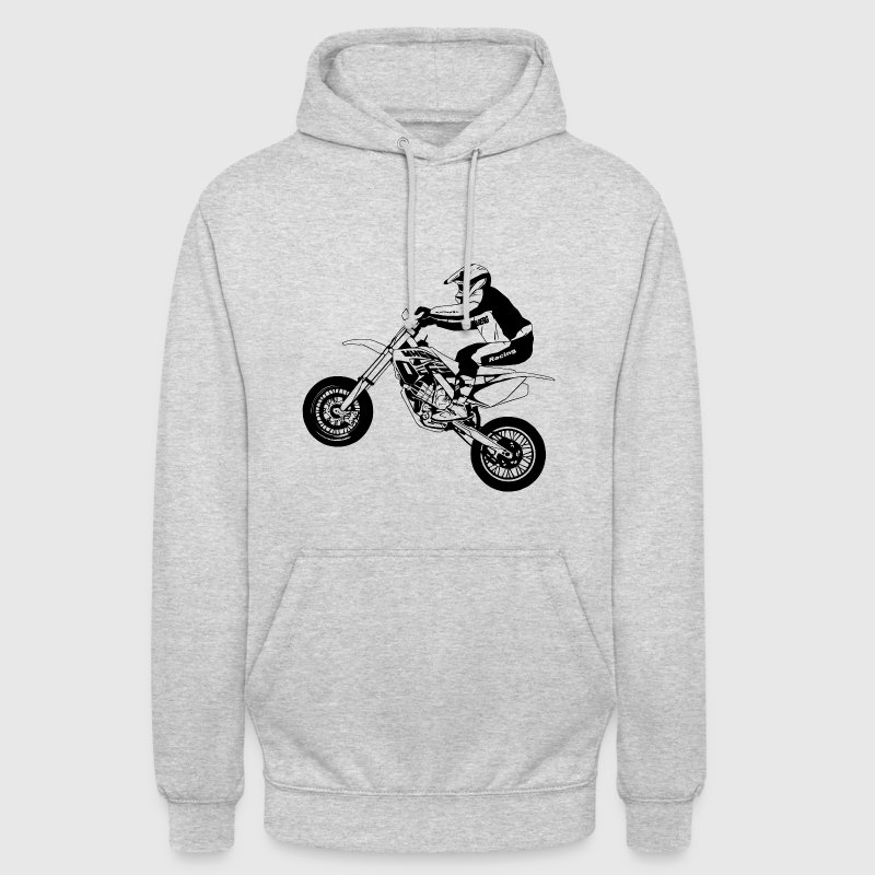 Supermoto - Sweat-shirt à capuche unisexe