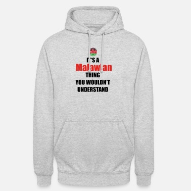 Malawi gift home roots love Malawi png - Unisex Hoodie