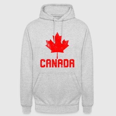 Maple Leaf Flag Canada - Unisex Hoodie
