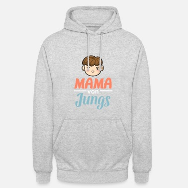 Mom of Guys - Cool strong mom gift - Unisex Hoodie