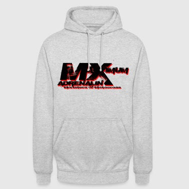 Maximum Adrenalin Schwarz - Unisex Hoodie