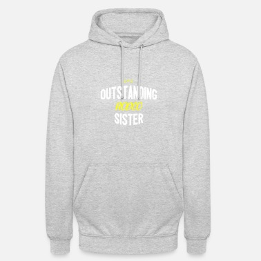 Rodeo Distressed - OUTSTANDING RODEO SISTER - Unisex Hoodie