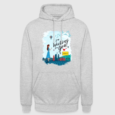 Long I'm waiting for you (partner shirt) - Unisex Hoodie
