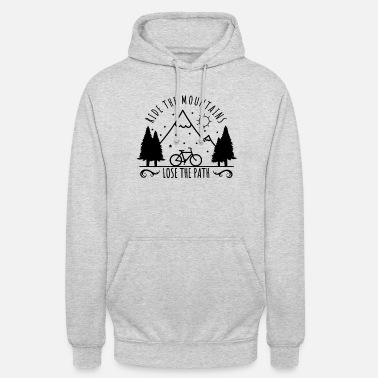 Outdoor Outdoor nature camping Camping mountainbikers - Unisex hoodie