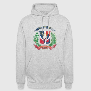 Dominican Coat of Arms Dominican Republic Symbol - Unisex Hoodie