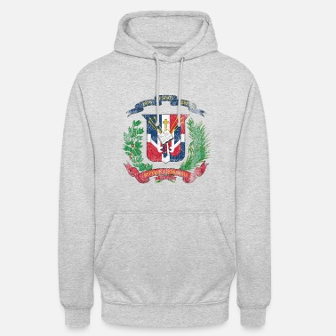 Dominican Republic Dominican Coat of Arms Dominican Republic Symbol - Unisex Hoodie