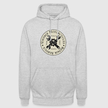 Vintage Motorcycles Repair Service - Sweat-shirt à capuche unisexe