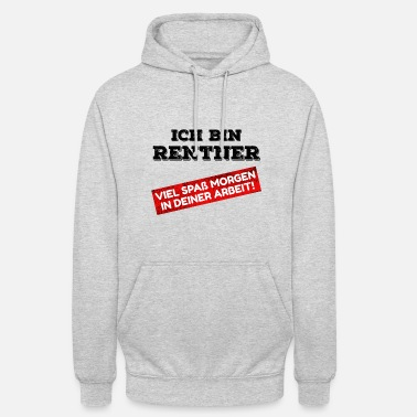 Pensioner Pensioner pensioner pension pension retirement saying - Unisex Hoodie