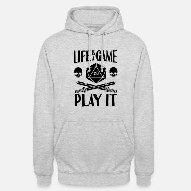 Cube Gamer Dice RPG LARP Tabletop Motivation Gift - Unisex Hoodie