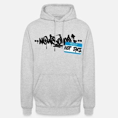 Jake Now-School - Hello my name is not Jake (Blue) - Unisex Hoodie