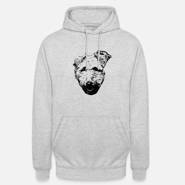 Welsh Terrier Welshie - Sweat-shirt à capuche unisexe