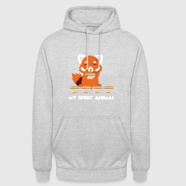Animal Planet Red Panda - Spirit - Chinees - noodle - Gift - Hoodie unisex