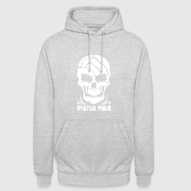 Wasserball Waterpolo Dominate or Drown Totenkopf - Unisex Hoodie