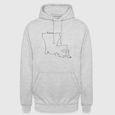 Louisiana LOUISIANA Accueil - Sweat-shirt à capuche unisexe
