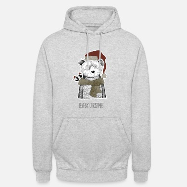 Christmas Collection Christmas Bear - Unisex Hoodie