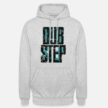 Dubstep lettrage Dubstep 3D 007 - Sweat à capuche unisexe