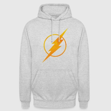 Justice League Flash Logo Pull  - Sweat-shirt à capuche unisexe