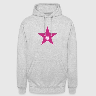 walk of fame + your name - Sudadera con capucha unisex