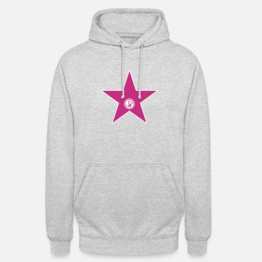 walk of fame + your name - Sweat-shirt à capuche unisexe
