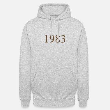 1983 1983 - Sweat-shirt à capuche unisexe