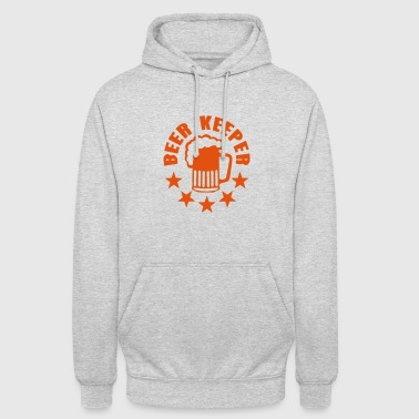 beer keeper biere alcool humour - Sweat-shirt à capuche unisexe