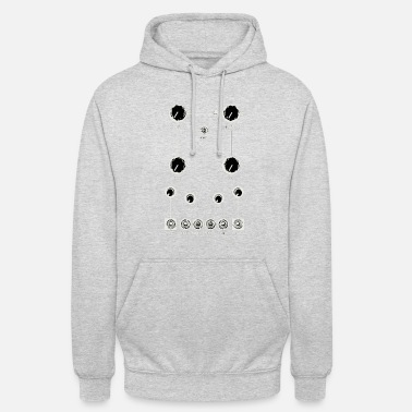Vintage synthesizer modular board - Unisex Hoodie