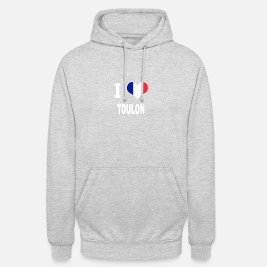 Toulon J'aime TOULON - Sweat-shirt à capuche unisexe