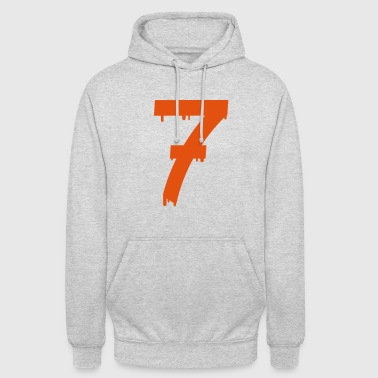 lucky number seven - Unisex Hoodie