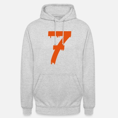Cool lucky number seven - Sudadera con capucha unisex