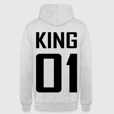 XXL LOGO KING 01 schwarze/black - Partnerlook - Unisex Hoodie