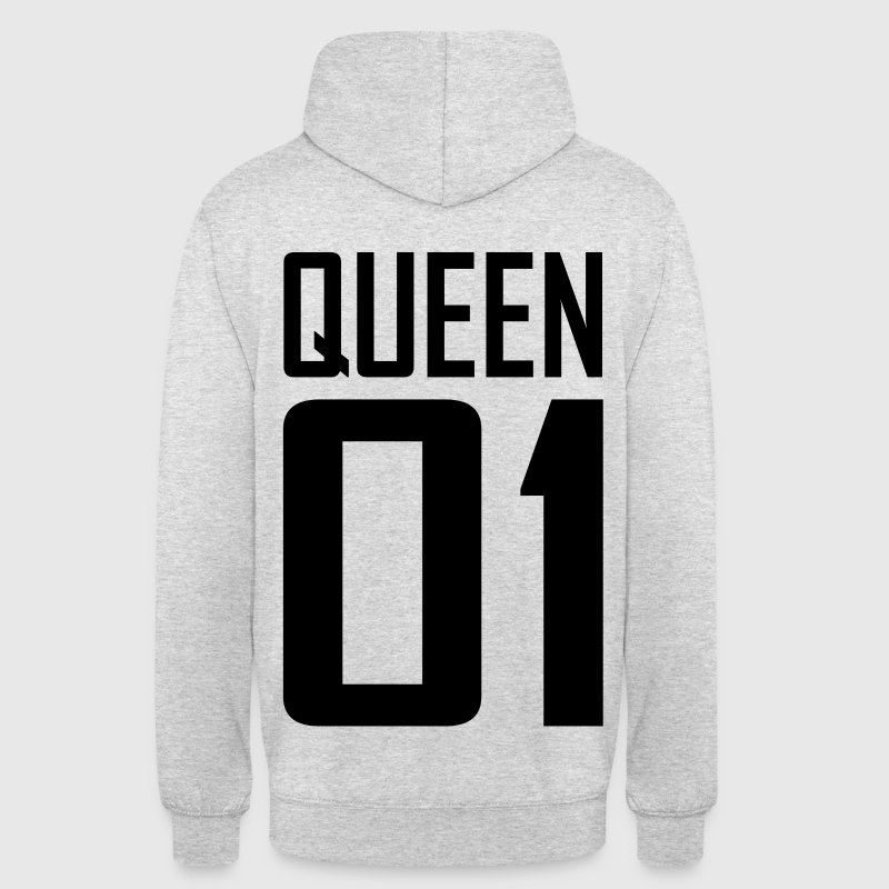 XXL LOGO QUEEN 01 schwarz/black - Partnerlook - Unisex Hoodie