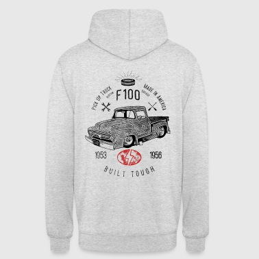 F100 Built Tough, Vintage - Sweat-shirt à capuche unisexe
