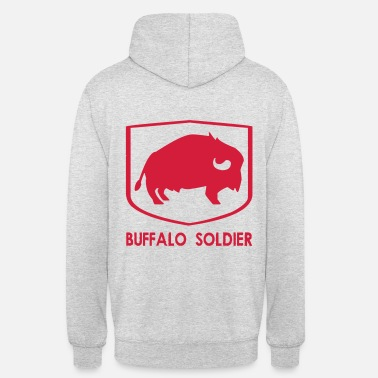 Soldier Of Fortune BUFFALO SOLDIER (v) - Bluza z kapturem typu unisex