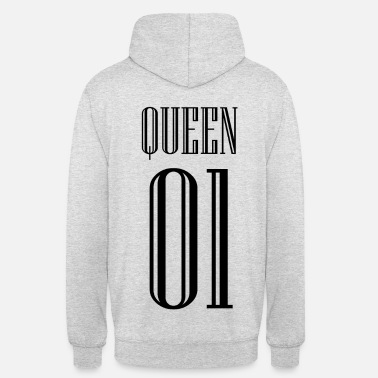 Queen Chemises partenaire QUEEN KING - Sweat-shirt à capuche unisexe