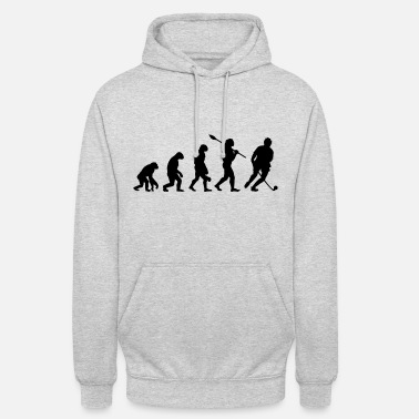 Hockey Field Hockey Evolution - Unisex Hoodie