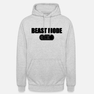 Beast Mode BEAST MODE ON - Bluza z kapturem unisex