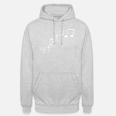 Note Music notes music notes - Unisex Hoodie