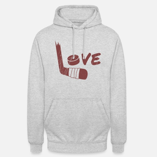 Gift Idea Hoodies & Sweatshirts - Hockey Sticks - Unisex Hoodie light heather grey
