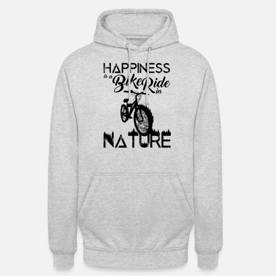 Bicycle Hoodies & Sweatshirts - bicycle - Unisex Hoodie light heather grey