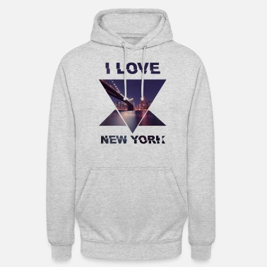 Template New York Template I Love Love - Hoodie unisex