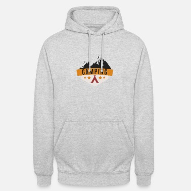 4 Stelle Camping ... Campeggio in montagna con 4 stelle - Hoodie unisex 70cd1d539b23