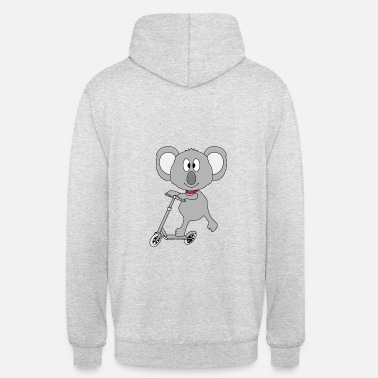 Bébé Animal Koala - Scooter - Animal - Enfants - Bébé - Sport - Sweat à capuche unisexe