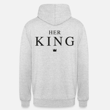 Queen HER KING BLACK - Unisex Hoodie