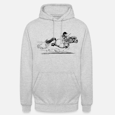 Pony rent Thelwell Cartoon - Unisex hoodie