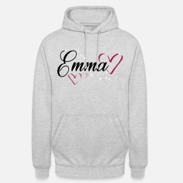 First Name Emma name first name - Unisex Hoodie
