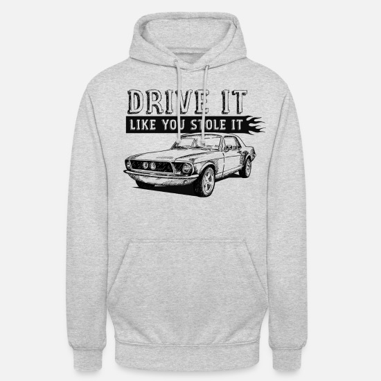 Bikes Hoodies & Sweatshirts - Drive It - Coupe - Unisex Hoodie light heather grey