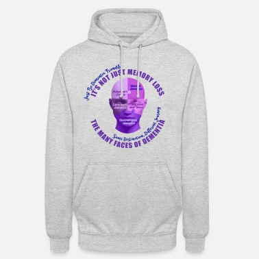Mixed Dementia The Many Faces of Dementia - Unisex Hoodie