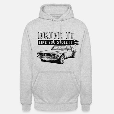 Car Drive It - Coupe - Unisex Hoodie