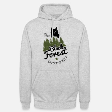 Black Forest Leible Into the wild - Unisex Hoodie