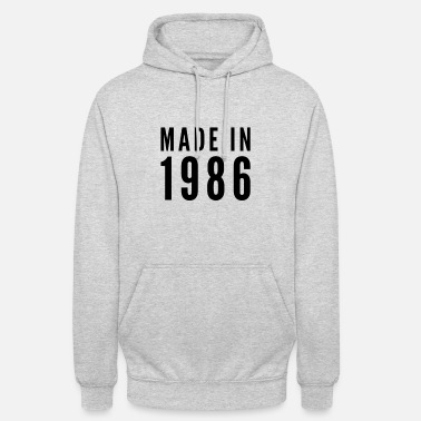 Idea Made in 1986 gift idea idea idea - Unisex Hoodie